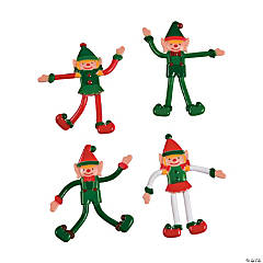 Vinyl Christmas Elf Bendables