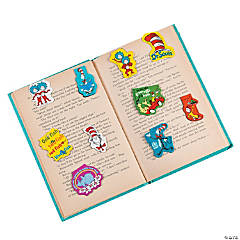 Vinyl Dr. Seuss™ Bookmark Magnets