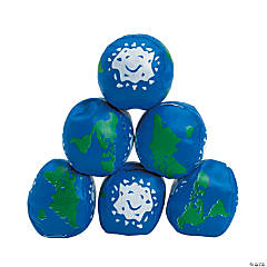 Vinyl Earth Kick Balls