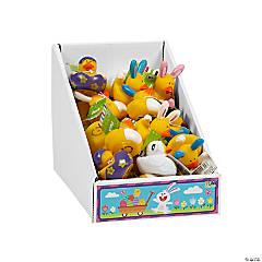 Vinyl Easter Rubber Duckies PDQ