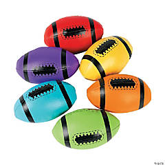 Vinyl Foam-Filled Footballs