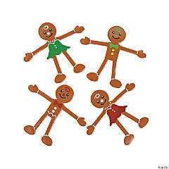Vinyl Gingerbread Bendables