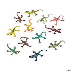 Vinyl Glitter Lizards