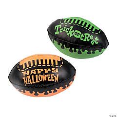 Vinyl Halloween Footballs