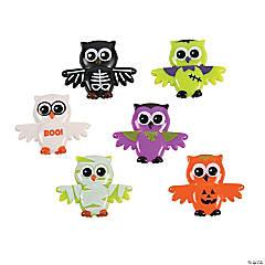 Vinyl Halloween Owl Characters