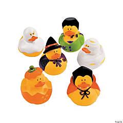 Vinyl Halloween Rubber Duckies