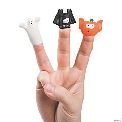 Vinyl Halloween Spooky Finger Puppets