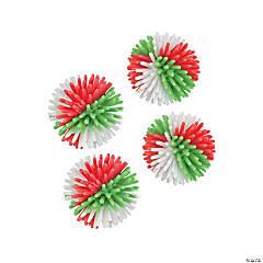 Vinyl Holiday Porcupine Balls