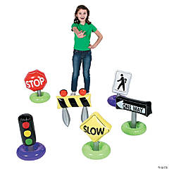 Vinyl Incredible Inflatable Traffic Signs
