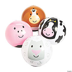 Vinyl Inflatable Farm Characters