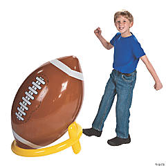Vinyl Inflatable Giant Football & Tee