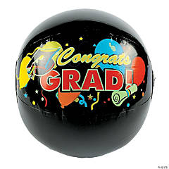 Vinyl Inflatable Graduation Beach Balls