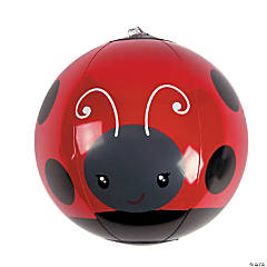 Vinyl Inflatable Mini Ladybug Beach Balls