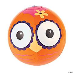 Vinyl Inflatable Owl Beach Balls