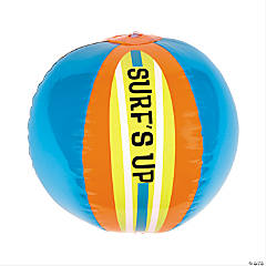 Vinyl Inflatable Surfs Up Beach Balls