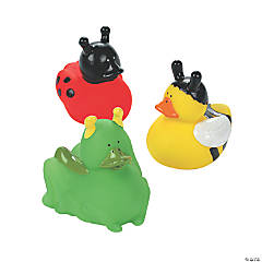 Vinyl Insect Rubber Duckies