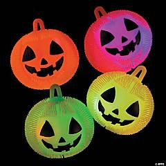 Vinyl Light-Up Jack-O'-Lantern Puffer Ball YoYos