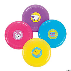 Vinyl Mini Easter Flying Discs