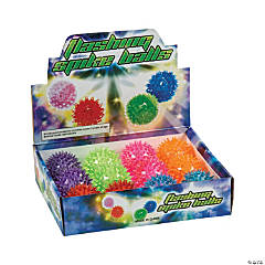 Vinyl Mini Light-Up Spike Balls