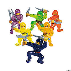 Vinyl Mini Ninja Warriors