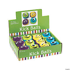 Vinyl Monster Kick Balls