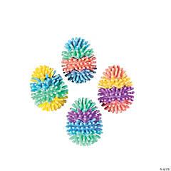 Vinyl Multicolor Egg-Shaped Porcupine Balls