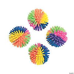Vinyl Multicolor Porcupine Balls