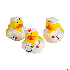 Vinyl Nurse Rubber Duckies