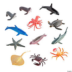 Vinyl Ocean Animals