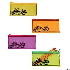 Vinyl Owl Pencil Cases