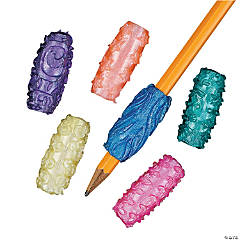 Vinyl Pearlized Sticky Pencil Grips