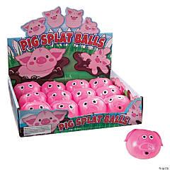 Vinyl Pig Splat Balls
