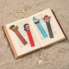 Vinyl Pirate Ruler Bookmarks - Less Than Perfect