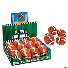 Vinyl Puffer Footballs