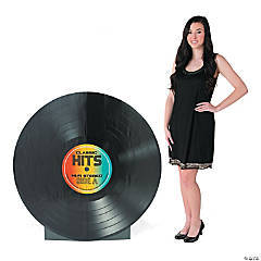 Vinyl Record Cardboard Stand-Up