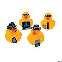 Vinyl Secret Agent Rubber Duckies