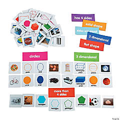 Vinyl Shape Sorting Magnets
