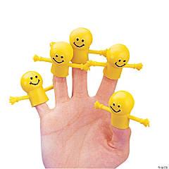 Vinyl Smile Face Finger Puppets