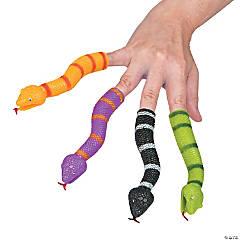 Vinyl Snake Finger Puppets
