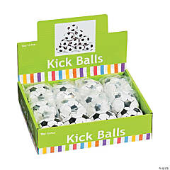 Vinyl Soccer Ball Kick Balls