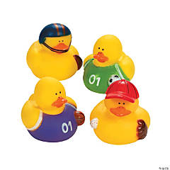 Vinyl Sports Rubber Duckies