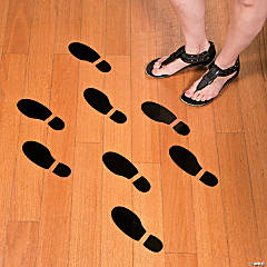 Vinyl Spy Agents of Truth Footprint Floor Decals