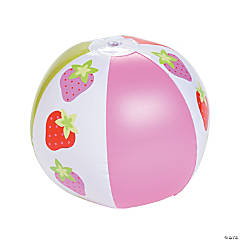 Vinyl Strawberry Party Beach Balls
