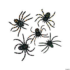 Vinyl Stretchable Spiders