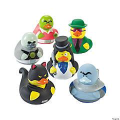Vinyl Super Villain Rubber Duckies