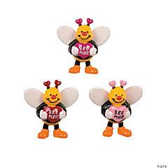 Vinyl Valentine Bees