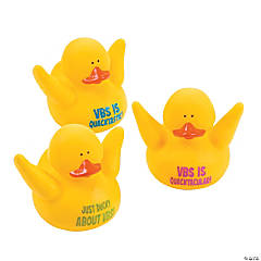 Vinyl VBS Rubber Duckies