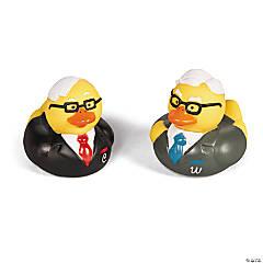 Vinyl Warren Buffett & Charlie Munger Rubber Duckies