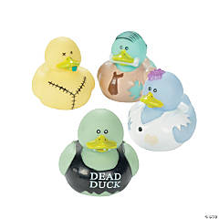 Vinyl Zombie Rubber Duckies