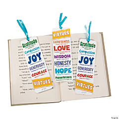 Virtues Bookmarks For Kids